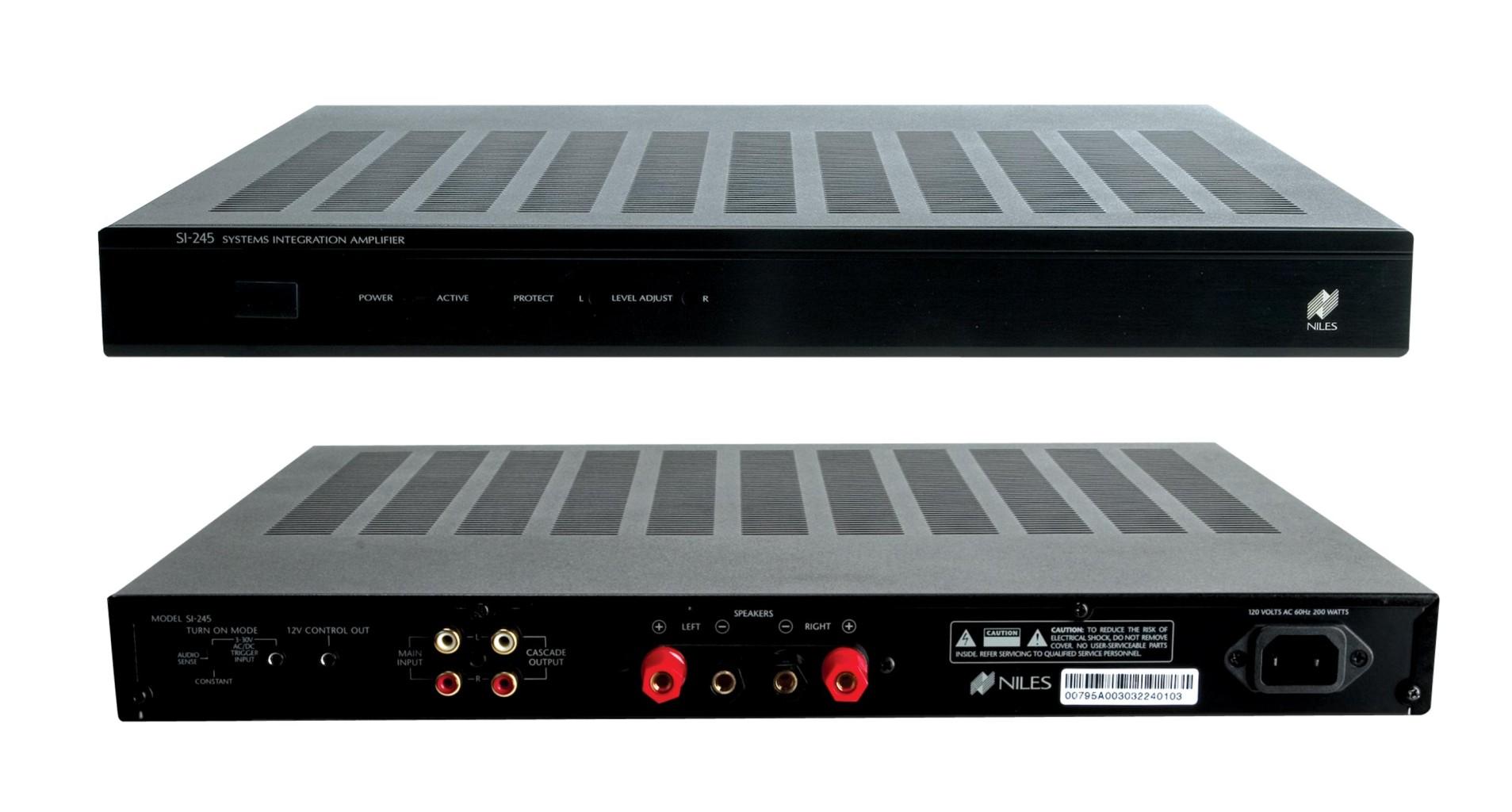 Niles Multi-Room Audio Remote Amplifiers: SI-245 SI-275 SI-2125
